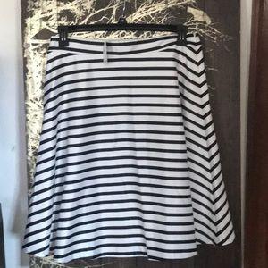 NWT satin a-line skirt